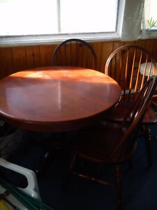 wood dining set for sale