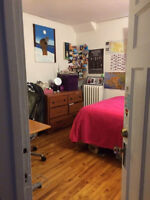 Sublet Jan 1 - May 30, 5 min walk from Queen's, Price Reduced
