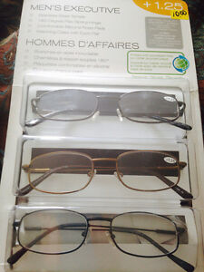Reading glasses 1.25