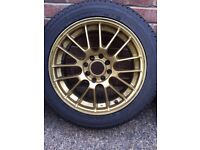 "15"" MultiFit 4x100+4x108 Alloys"