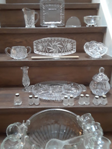 Add sparkle to your table with crystal + glass serving ware