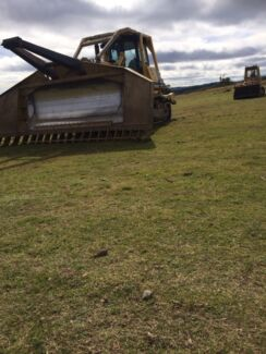 Blade plough and cutter bar wet hire Dozer excavator Darling Heights Toowoomba City Preview