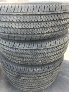 Bridgestone Dueler H/T 255 70 17 **LIKE NEW** $400 for all 4