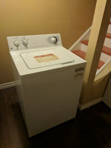 Washer and dryer set - General Electric - Used