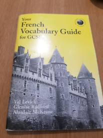 French gcse vocab book