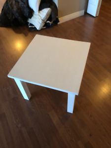 solid wood end table. $30 OBO