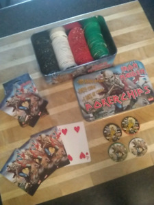 Iron maiden Poker set