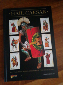 Warlord games rulebook Hail Caesar