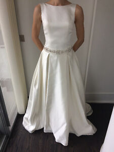 Lusan Madongus wedding dress