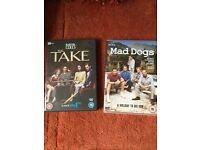 The Take and Mad Dogs DVDs. £2