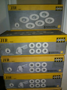 """11 boxes!(66 lights) 3"""" recessed lighting"""