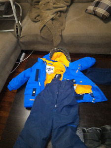 OshKosh Snow suit with size 7 boots