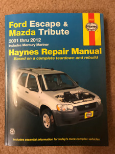 Haynes Ford Escape/Mazda Tribute 2001-2012 Manual