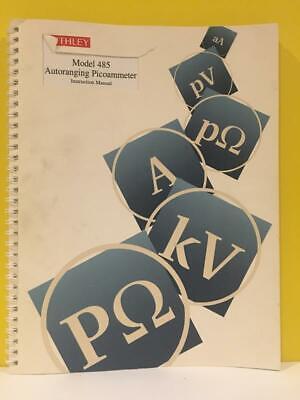 Keithley 485-901-01 Rev. F Model 485 Autoranging Picoammeter Instruction Manual