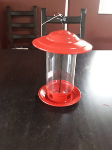 Bird Feeder and Seeds - NEW