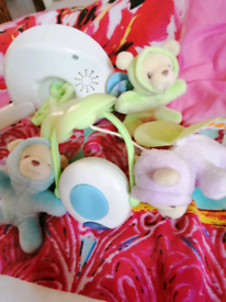 Baby cot mobile projector.