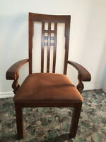 Hardwood Accent Chair