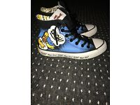 The simpsons Converse trainers