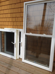 Vinyl Windows - Three USED in like new condition