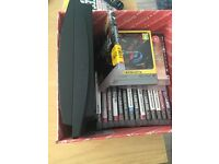 PS3 slim 160gb with controller and 25 games