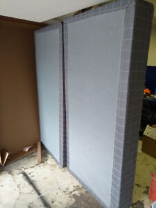 King Size Box Spring (Basically new condition)