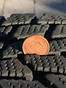 Snow Tires 195x65x15 North Shore Greater Vancouver Area image 2