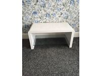 Next coffee table white gloss