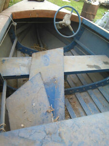 small homemade boat for sale needs painting