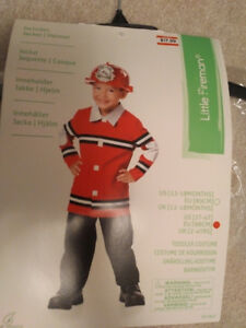 Firefighter costume 2-4years