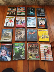 Assorted DVDs - $3/each - $45 for all (OBO)