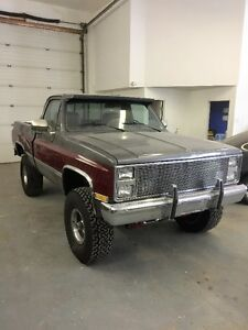 1987 Chev K10 Silverado Custom 4x4 Shortbox
