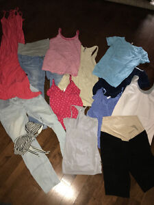 Bag of summer maternity clothing size small