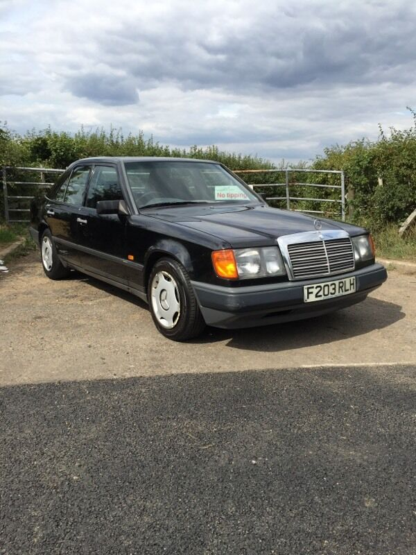Mercedes benz w124 230e auto black 1988 in hounslow for Mercedes benz w124 230e workshop manual