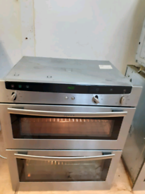 Neff U1722N0GB double electric oven built under stainless steel 60cm