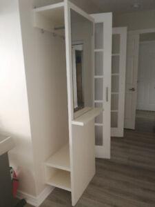Hall stand / coat hanger / shoe and hat shelf