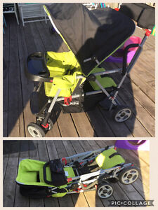 Joovy Caboose sit/stand double stroller