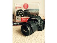 Canon DSLR Touchscreen 100D - excellent condition!
