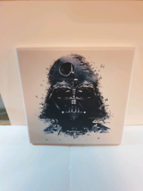 Star wars Darth Vader Canvas picture 10x10 inch