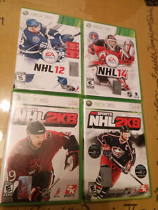 Lot 6 jeux Xbox 360 sports et cartoon 30$