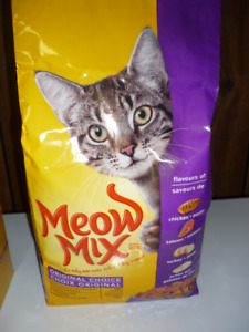 Meow Mix Wet and Dry Cat Food