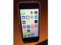 APPLE IPHONE 5 WHITE 5C OPEN TO ANY NETWORK!