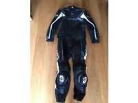 Arlen Ness Madif 2 piece motorcycle leather suit