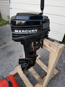 Mercury 9.9 short shaft - new tank