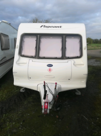 Bailey pageant fixed bed 4 berth