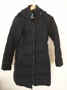 Old Navy long black coat
