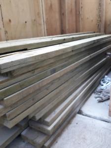 2x8x8 Pressure Treated Lumber