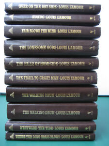 96 Hardcover Louis L'Amour Books