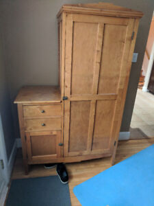 Antique Side by Side Armoire