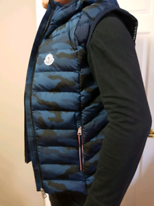 Moncler Vest super new military style 2018