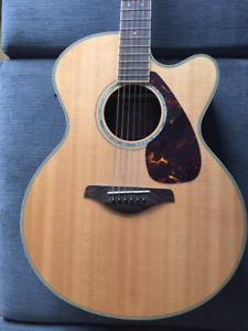 Yamaha Acoustic Guitar (with built in pickup system)